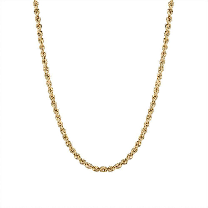 4MM Rope Chain Necklace