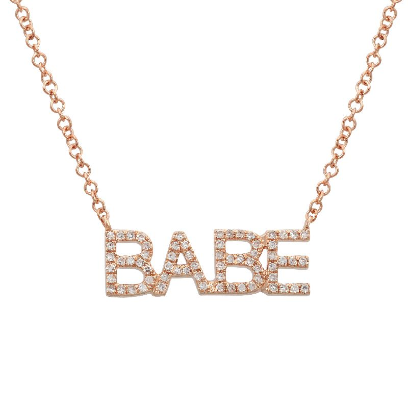 Diamond Babe Necklace