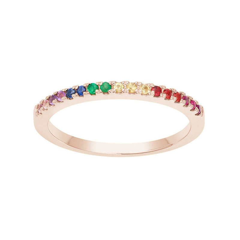 Stackable Rainbow Ring