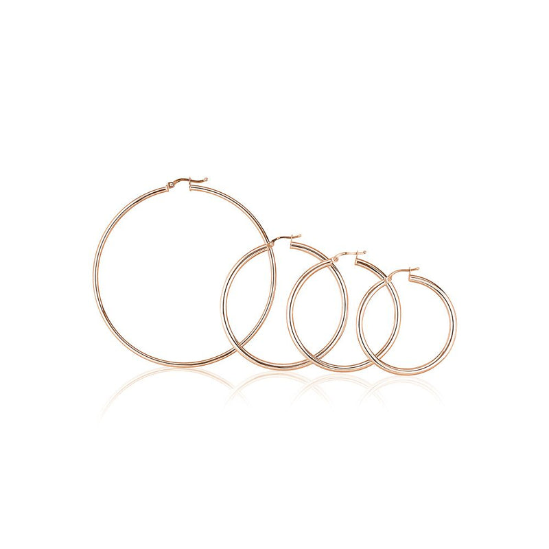 Medium Hoop Earrings