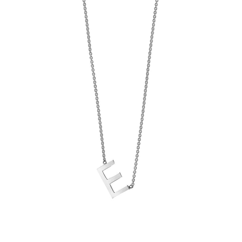 Single Initial Necklace