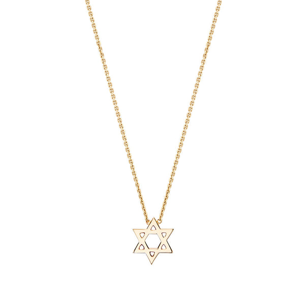 Mini Star of David Necklace