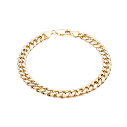 Hollow Miami Cuban Link Bracelet
