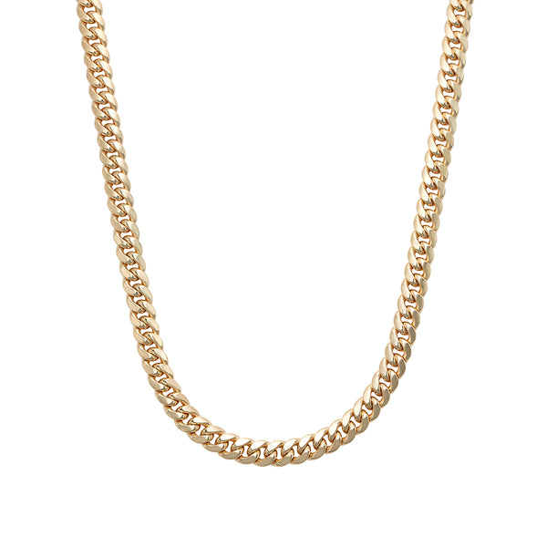 Hollow Miami Cuban Link Chain