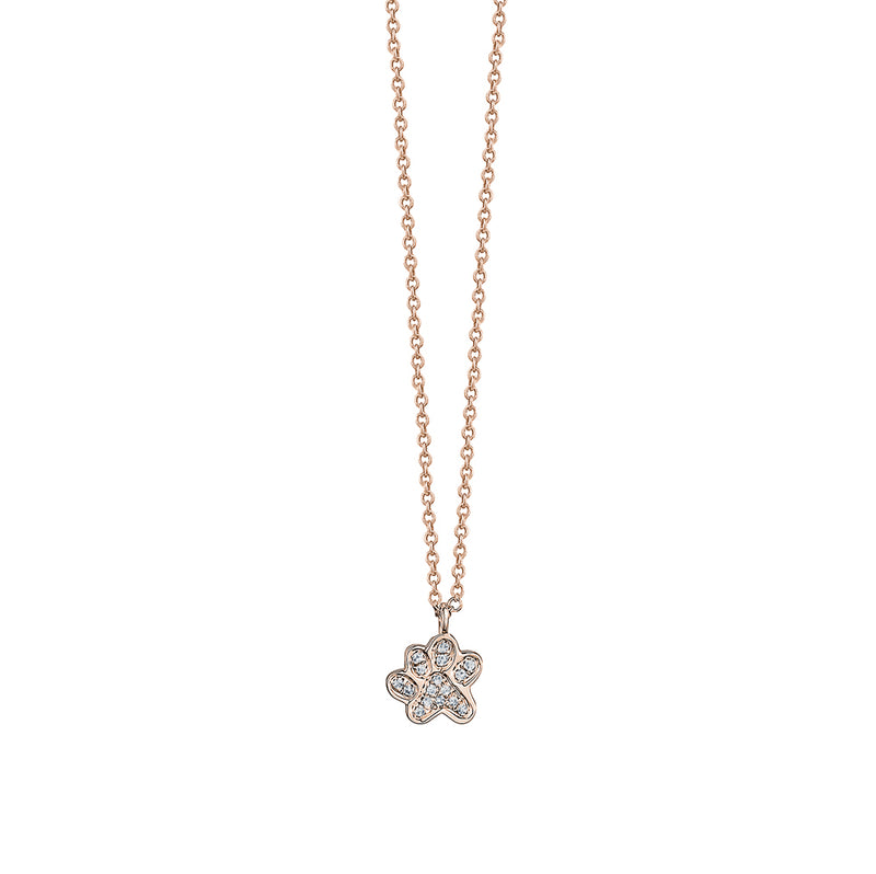 Diamond Paw Necklace
