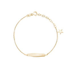 Baby ID Bracelet with Star Charm