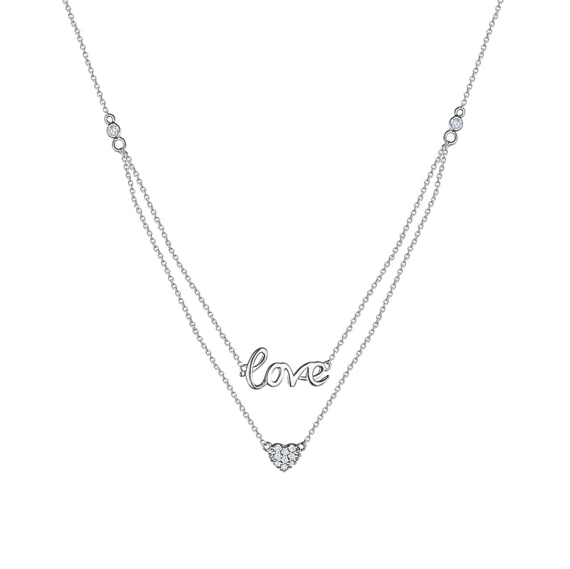 Double Layered Love necklace