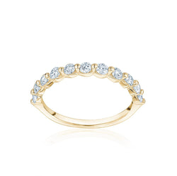 Single Prong Diamond Ring