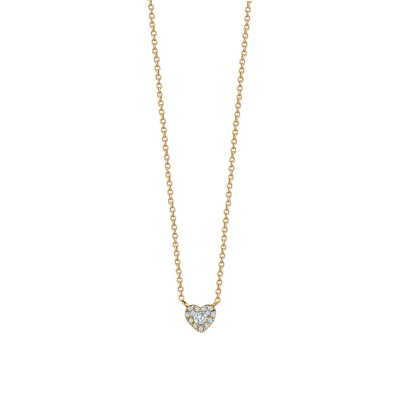 Diamond Mini Heart Necklace