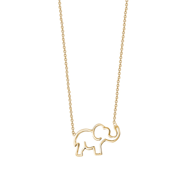 Open Elephant Necklace