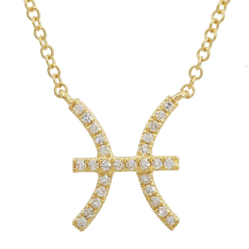 Diamond Zodiac Necklace