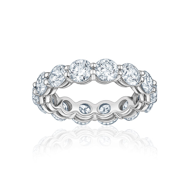 The Round Diamond Eternity Ring