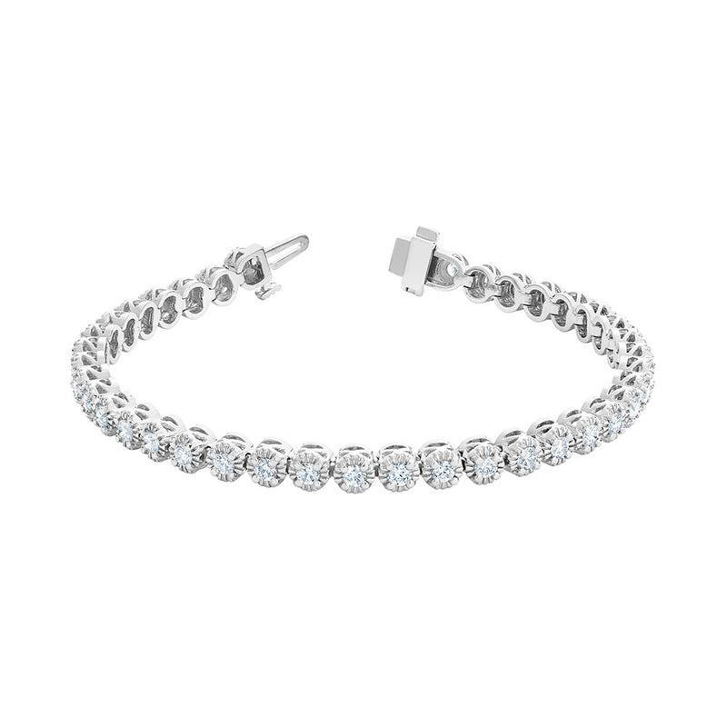 Diamond Tennis Bracelet 2.60ctw