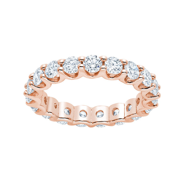 U-Shape Diamond Ring