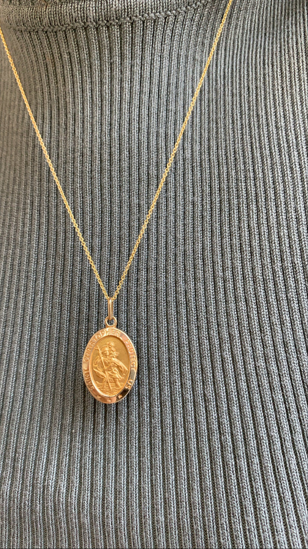 Saint Christopher Medallion