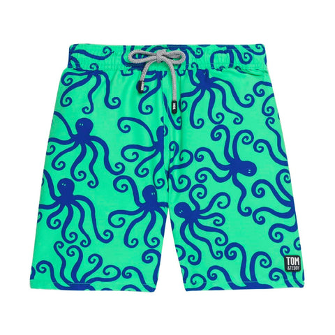 Green & Blue Octopus