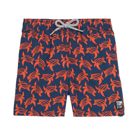 Navy & Orange Turtles
