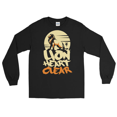 Lion Heart -Men's Long-Sleeve Shirt