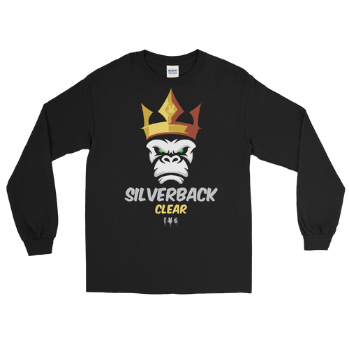 SILVERBACK CLEAR -  Long Sleeve Shirt - Crown