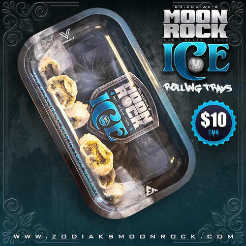 Dr.Zodiak's Moonrock Rolling Tray - Moonrock Ice