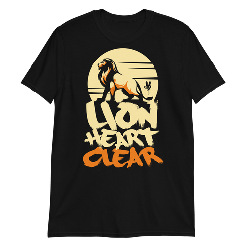 Lion Heart Clear - Short-Sleeve Unisex T-Shirt