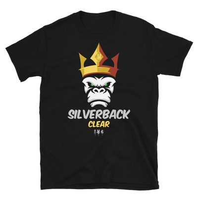 SILVERBACK CLEAR - Short-Sleeve Unisex T-Shirt - Crown