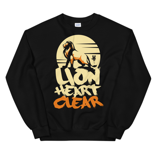 Lion Heart Clear -UnisexSweatshirt