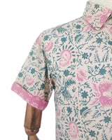 Men's premium primissima cotton, hand blocked batik shirt by Batik Martin.