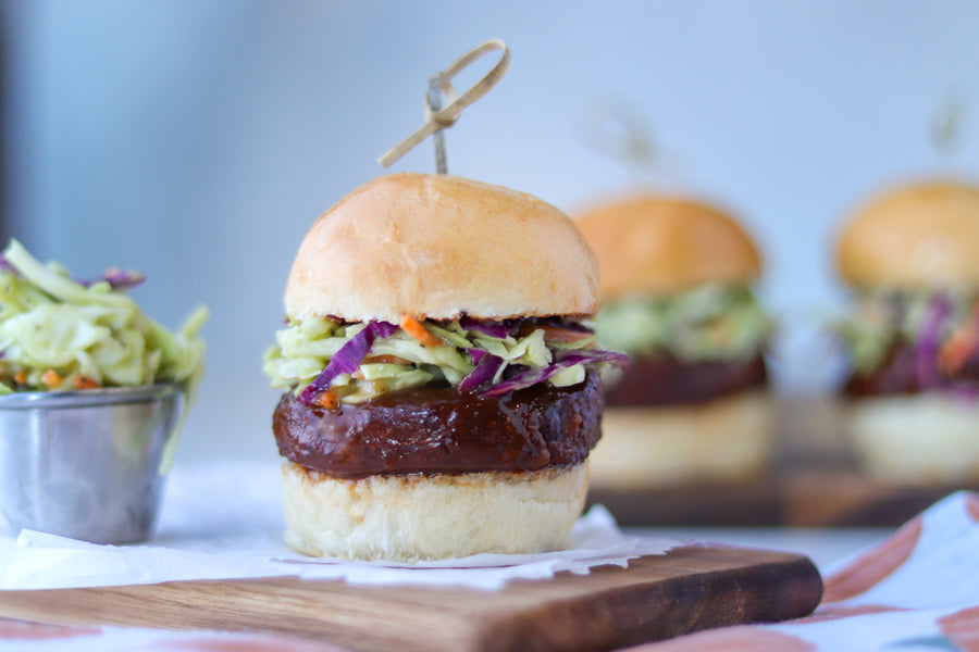 NexVeg Vegan BBQ Sliders