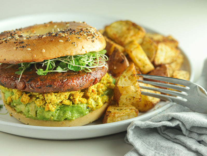 NexVeg Vegan Breakfast Sandwich