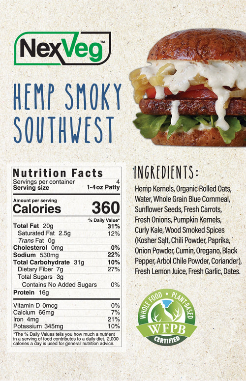 Hemp & Seed Smoky Southwest