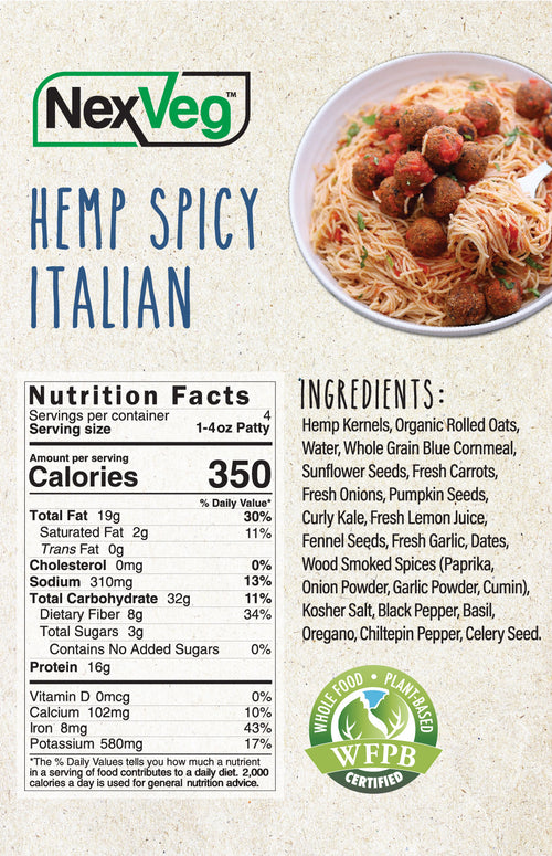 Hemp & Seed Spicy Italian