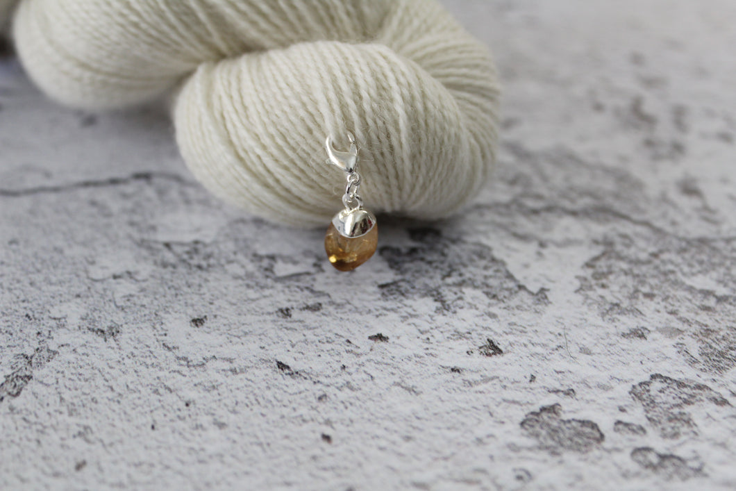 Citrine Progress Keeper crystal-yarn.myshopify.com
