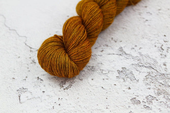 Rutilated Quartz - 4ply SW Merino/Yak/Nylon