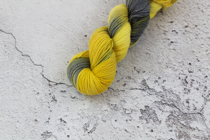 The Fool Tarot - 4ply Corriedale