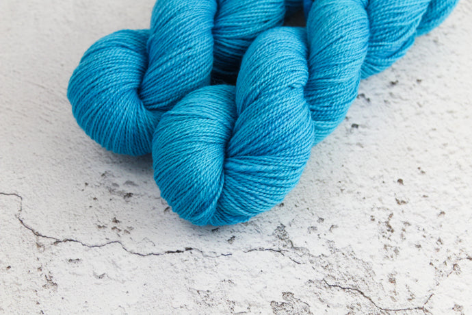 Cornflower - 4ply Corriedale