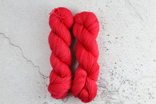 Load image into Gallery viewer, Red Phoenix Feather - 4ply Corriedale