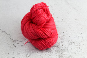 Red Phoenix Feather - 4ply Corriedale