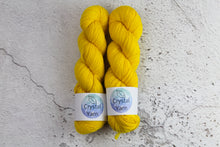 Load image into Gallery viewer, Yellow Phoenix Feather - 4ply Corriedale