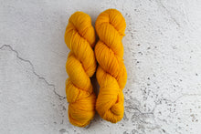 Load image into Gallery viewer, Orange Phoenix Feather - 4ply Corriedale