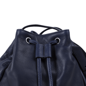 Cobalt Bucket Bag