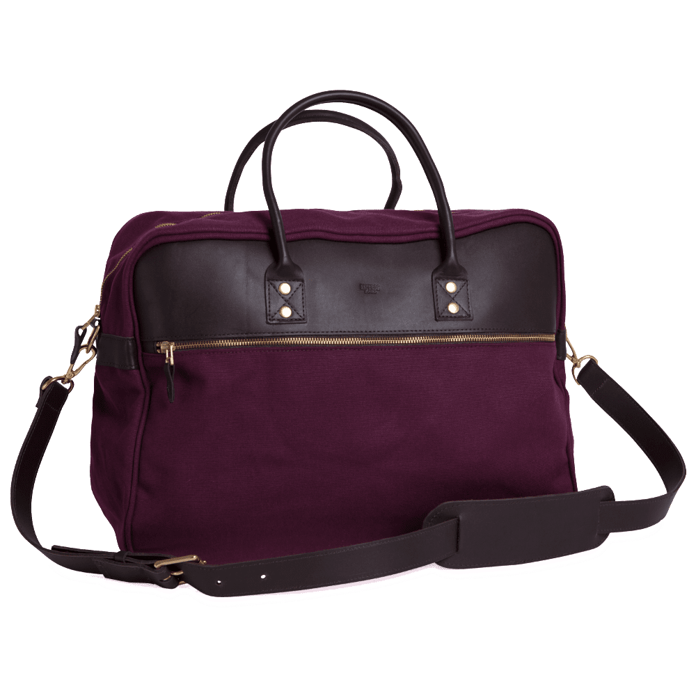 Burgundy Windsor Travel Duffle