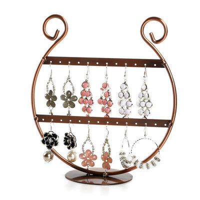 Porte Boucles d'Oreilles <br /> Support Bronze