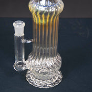 Inline tube scalloped tube water pipe