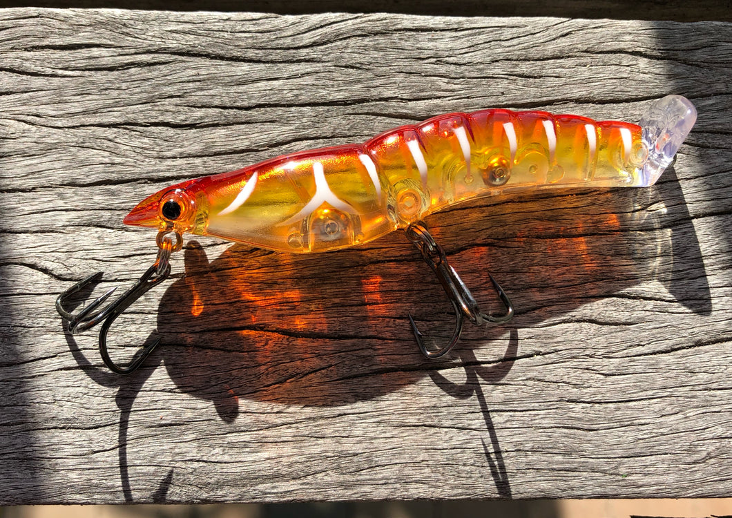 95mm Splash Prawn - Cooked King