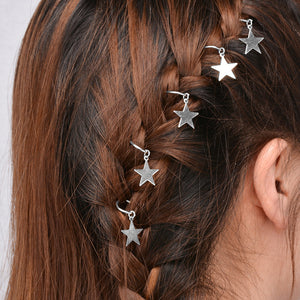 Women Personality Africanligtails Gutter Hair Clip Small Hair Accessories