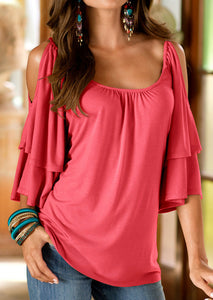 Women Daily Casual T-shirt Tunic Tops