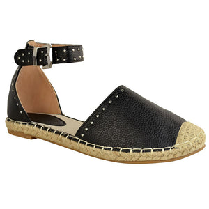 Summer Casual Adjustable Buckle Sandals Daily Flats