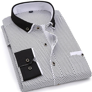 Men's Fitted Long Sleeve Shirt