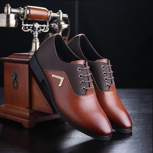 AMARETTO Men's Leather Shoes